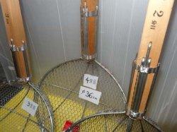 画像4: 直径36cm 木柄金網杓子(すくい網・ガラ揚げ)