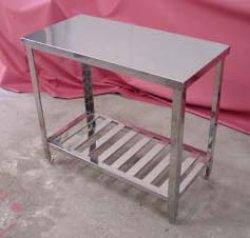 画像1: 調理台(業務用オールステン調理台)高さ=800