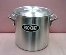 画像1: アルミ プロシェフ 寸胴鍋