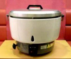 画像1: ガス炊飯器(5升用=10リットル)業務用
