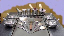 画像1: お好み焼テーブル用付属セット