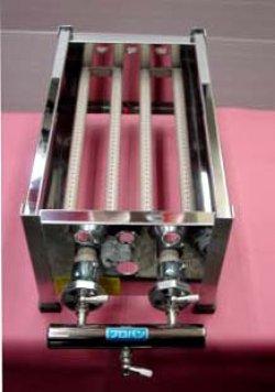 画像4: たこ焼器 鉄大32穴x1連