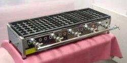 画像2: たこ焼き器 縁高・鉄28穴or大玉18穴x5連