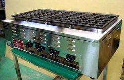 画像1: 業務用 電気式 たこ焼器 鉄鋳物たこ鍋