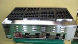 画像2: 業務用 電気式 たこ焼器 鉄鋳物たこ鍋
