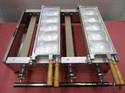 画像3: たい焼機 5匹x2連 白