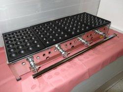 画像5: たこ焼き器 鉄大玉24穴x4連
