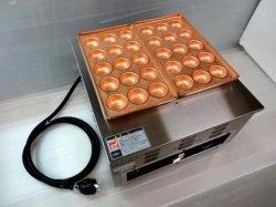 画像1: 業務用 電気式 明石焼器 手打ち銅板