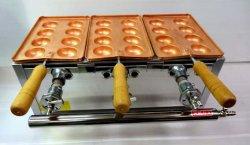 画像2: 明石焼き器(手打ち銅板鍋付) オリジナル特製カンテキ