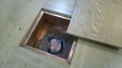 画像2: 囲炉裏テーブル(炭焼いろりテーブル)