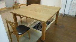 画像4: 囲炉裏テーブル(炭焼いろりテーブル)