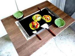 画像2: もんじゃ焼きテーブル