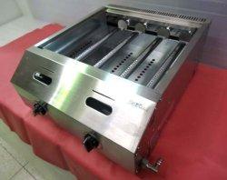 画像5: バック排気型 たこ焼器 銅鍋2連