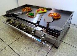 画像1: 900x450型(専門店向)鉄板焼き器