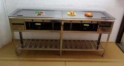 画像3: カウンター埋め込み型 鉄板焼き器(お好み焼き器)