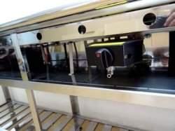 画像5: カウンター埋め込み型 鉄板焼き器(お好み焼き器)
