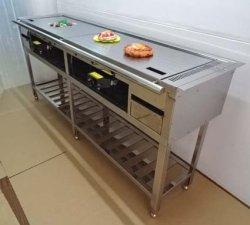 画像4: カウンター埋め込み型 鉄板焼き器(お好み焼き器)