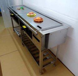 画像1: カウンター埋め込み型 鉄板焼き器(お好み焼き器)