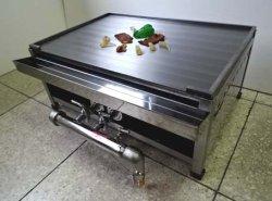 画像1: ステーキ用 鉄板焼き器 丸バーナー付(厨房用)