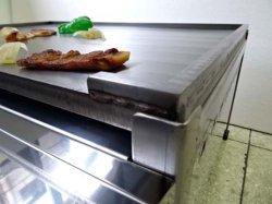 画像3: ステーキ用 鉄板焼き器 丸バーナー付(厨房用)