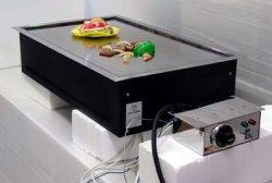 画像1: テーブル用・電気式・鉄板焼ユニット 2人用