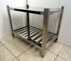 画像3: 鉄板焼用 ステン台
