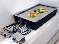 画像1: テーブル用・電気式・鉄板焼(お好み焼き)ユニット 6〜8人用 2回路