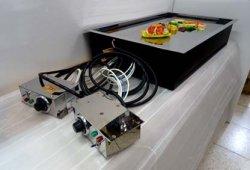 画像4: テーブル用・電気式・鉄板焼(お好み焼き)ユニット 6〜8人用 2回路