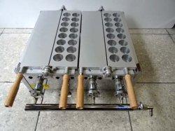 画像2: たこ焼き機 回転式 手動 半自動 注文生産