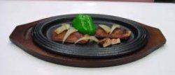 画像1: 三筋型F ステーキ皿