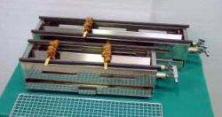 画像1: ガス式 串焼き器 中=450型