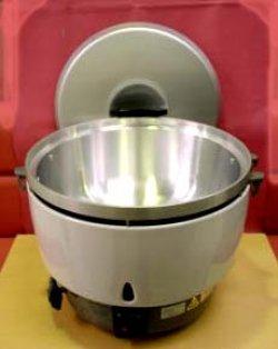 画像3: ガス炊飯器(5升用=10リットル)業務用