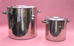 画像1: ステン寸胴鍋 直径60cm(容量165リットル)