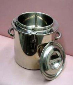 画像1: 湯煎寸胴鍋 (ゆせん寸胴鍋)