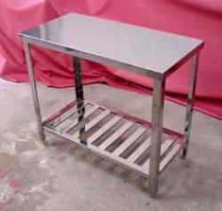 画像1: 調理台(業務用オールステン調理台)