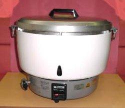 画像2: ガス炊飯器(5升用=10リットル)業務用