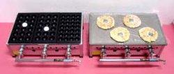 画像1: たこ焼き兼用鉄板焼き器(業務用)