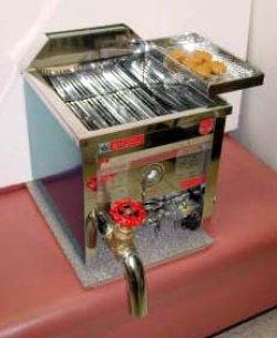 画像1: 卓上式 ガス フライヤー