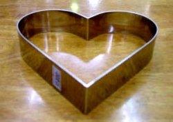画像3: ハート型リング(ステン製)4サイズ