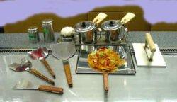画像1: カウンター用鉄板焼き小物セット